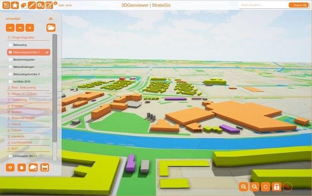 Opbouw 3DGeoviewer uit opendata